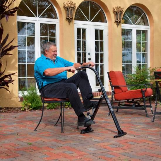 Bicicletă vitarid-r portabilă pentru pensionari